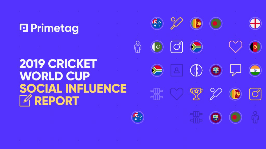 2019 Cricket World Cup Social Influence Report