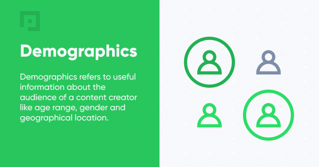 What is demographics definition influencer marketing blog primetag