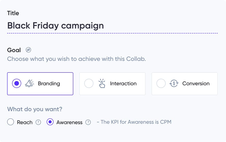 How to create campaign in influencer marketing